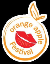 Orange Apple Festival Logo